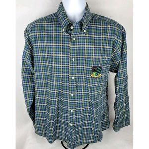Tommy Hilfiger Plaid Long Sleeve Button Down Shirt